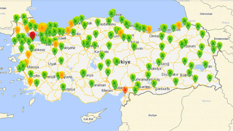 Ankara hava kirliliği
